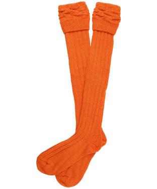 Pennine Portland Wool Socks - Spice