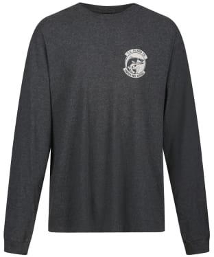 Men's Filson L/S Ranger Graphic T-Shirt - Dark Heather Grey / Fish