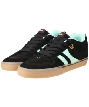 Men's Globe Encore 2 Skate Shoes - Black / Mint