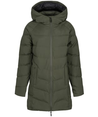 Women's Musto Marina Long Quilted Jacket - Deep Green