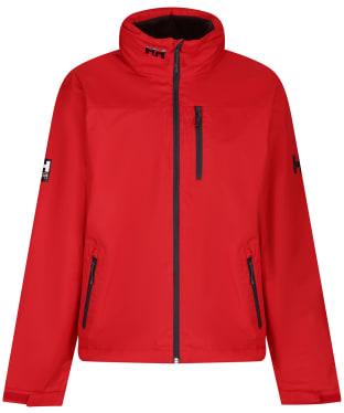 Men's Helly Hansen Crew Hooded Midlayer Jacket - Red