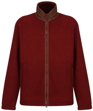 Men's Alan Paine Aylsham Fleece Jacket - Bloodstone