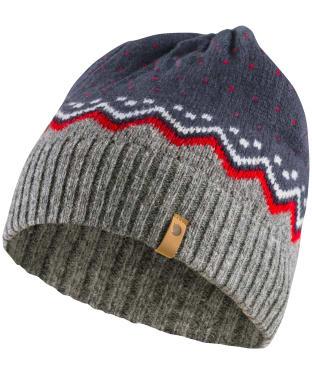 Fjallraven Ovik Knit Hat - Navy