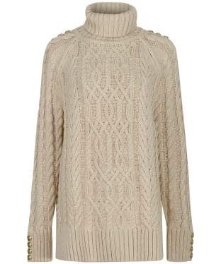Women's Holland Cooper Greenwich Cable Knit - Oatmeal