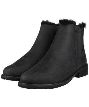 Women's EMU Pioneer Leather Waterproof Boots - Black