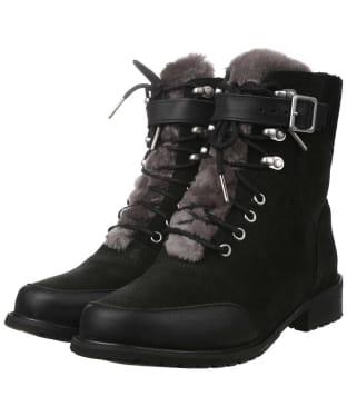 Women's EMU Waldron Mix Waterproof Boots - Black