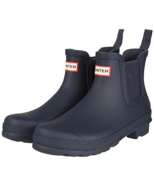 Women's Hunter Original Chelsea Boots - Navy