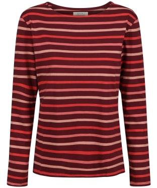 Women's Seasalt Sailor Shirt - Tri Breton Bergamot