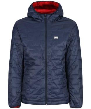 Men's Helly Hansen Lifaloft Hooded Insulator Jacket - Navy