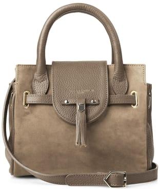 Women's Fairfax & Favor Mini Windsor Handbag - Taupe Suede