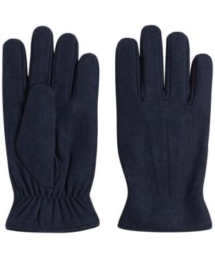 Men's GANT Melton Gloves - Marine
