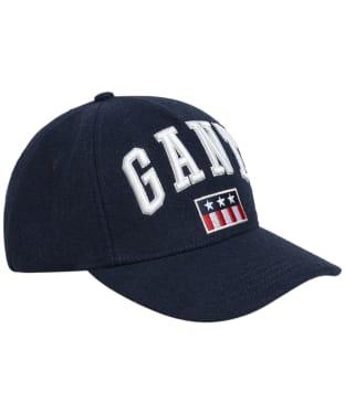Men's GANT Tag Wool Cap - Marine