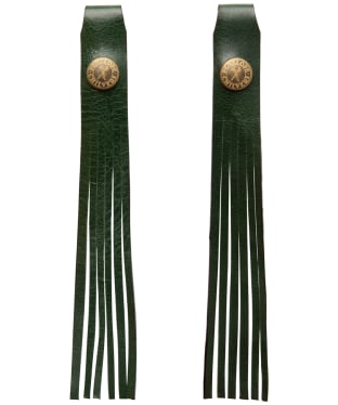 Women's Penelope Chilvers Simple Leather Tassels - Forest Green