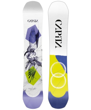 Women's Capita Total Resort Destroyer Camber Board (Short) - Birds Of A Feather