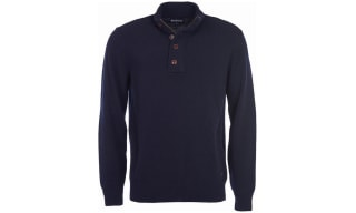Barbour Button Neck Sweaters
