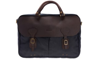 Waxed Cotton Briefcases