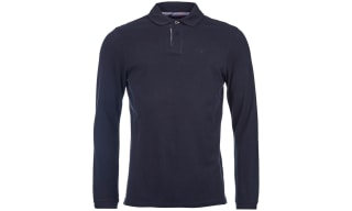 Barbour Long Sleeve Polos