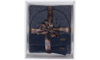 Barbour Hat & Scarf Set