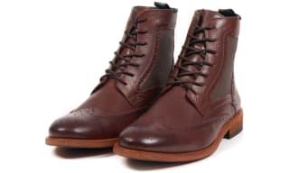 Barbour Brogue Boots