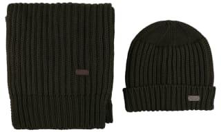 Barbour Hat & Scarf Set