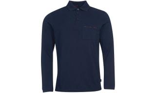 Barbour Long Sleeve Polos