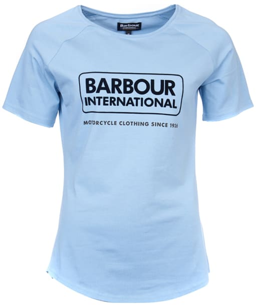 Women's Barbour International Enduro Tee - Faded Blue