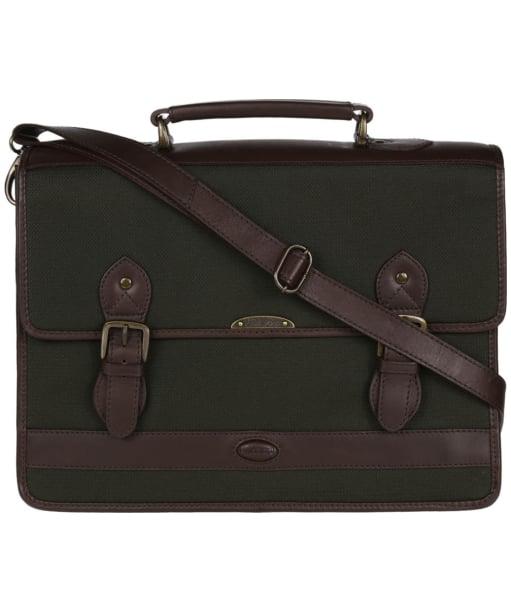 Dubarry Belvedere Leather Brief Bag - Olive