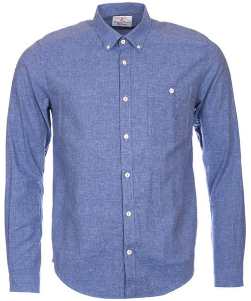 Men's Barbour Brian Shirt - Indigo