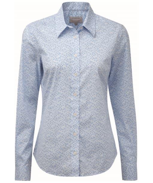 Women's Schoffel Suffolk Shirt - Blue Floral