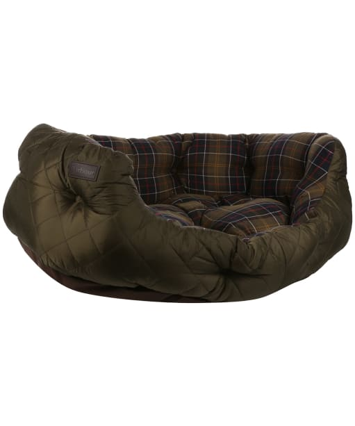 "Barbour 35"" Quilted Dog Bed - Olive"