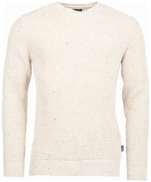 Men's Barbour Blade Crew Neck Sweater - Fog