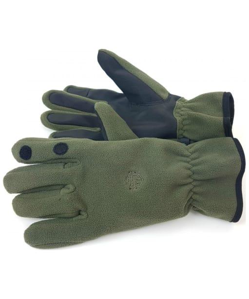 Men's Alan Paine Calshot Microfleece Shooting Gloves - Olive
