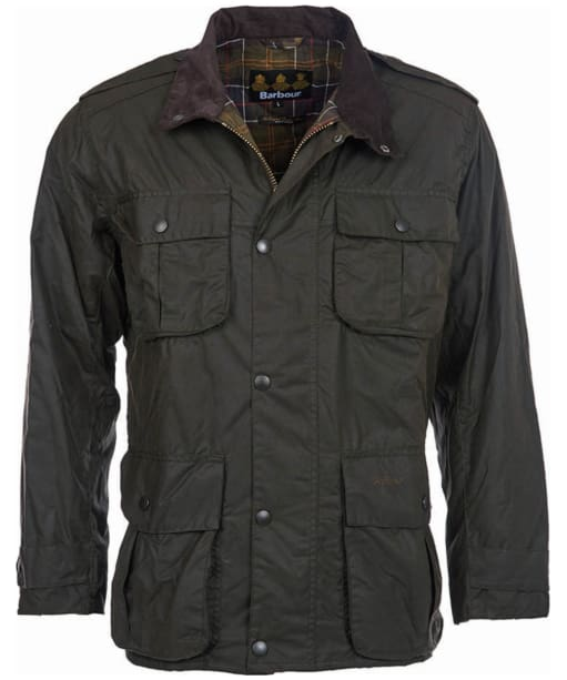 Men's Barbour Trooper Jacket - Olive
