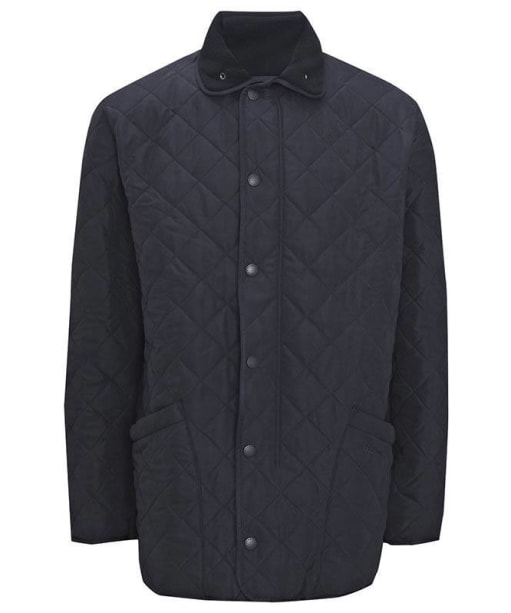 Barbour Mens Microfibre Polarquilt Jacket - Navy