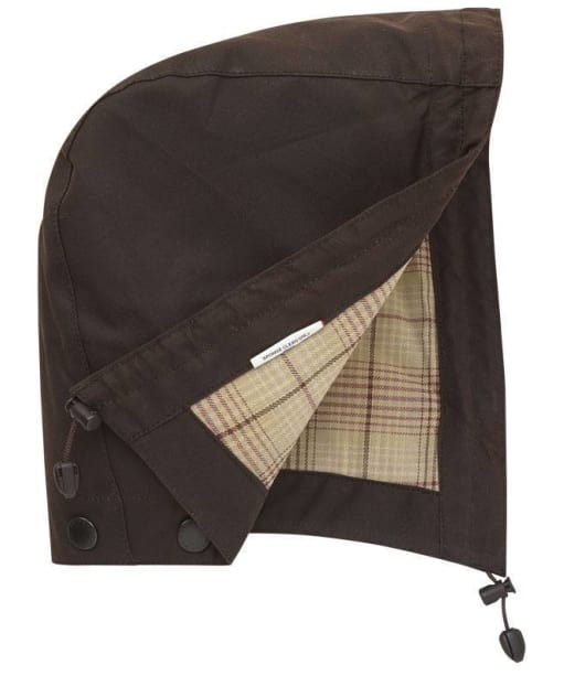 Barbour Mens Stockman Hood - Brown