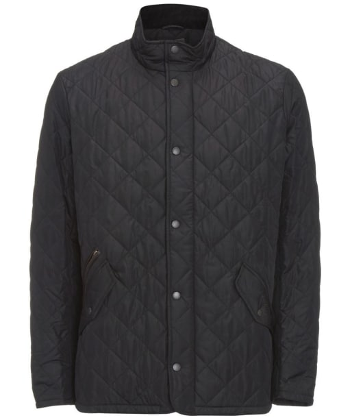 Barbour Chelsea Sportsquilt Jacket- Black