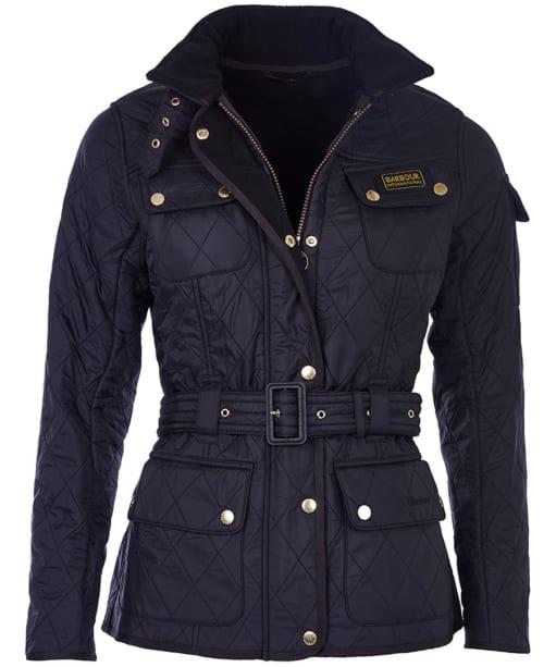 Ladies Barbour International Quilt Jacket - Black