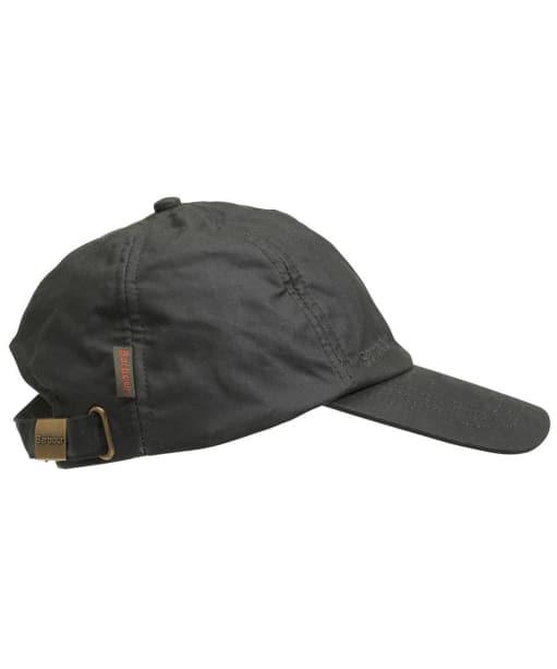 Barbour Wax Sports Cap- Sage