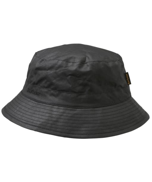 Barbour Wax Sports Hat- Black