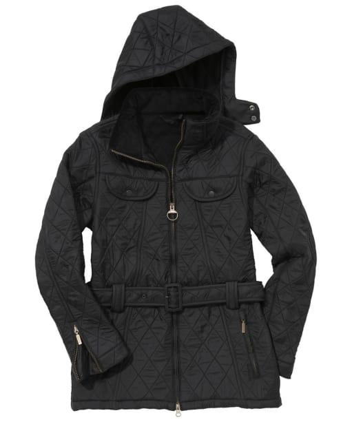 Womens Barbour Grace Polarquilt Jacket- Black