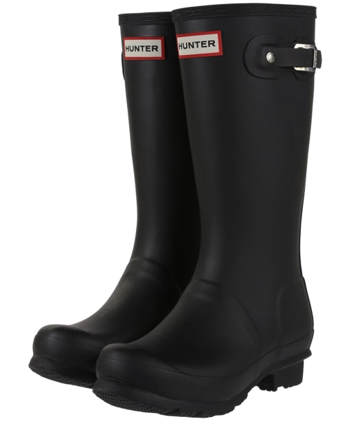 Hunter Wellies - Original Kids Wellington Boots - Black