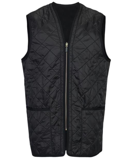 Men's Barbour Polarquilt Waistcoat / Zip-In Liner - Black
