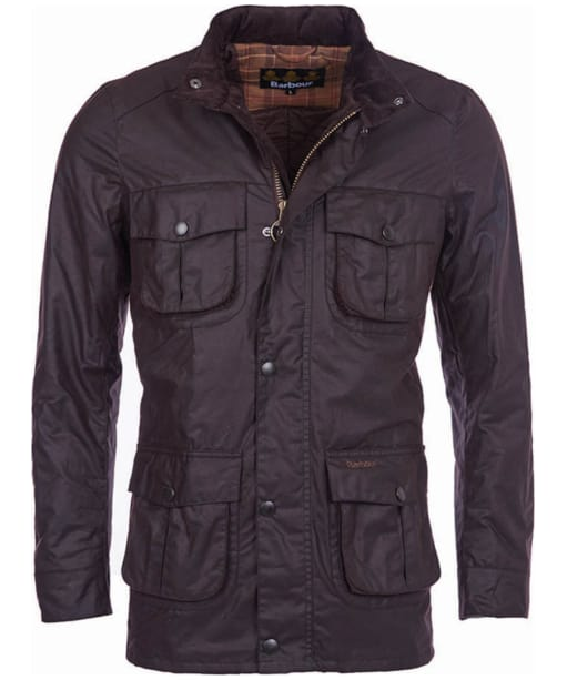 Men's Barbour Corbridge Waxed Jacket - Rustic