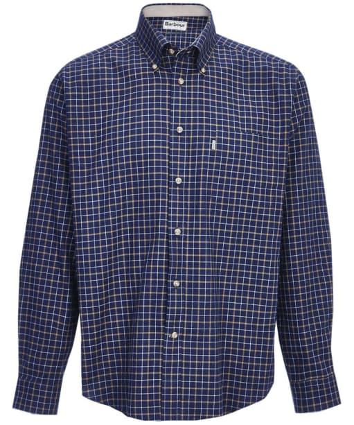 Men's Barbour Bank Check Shirt - Navy Check