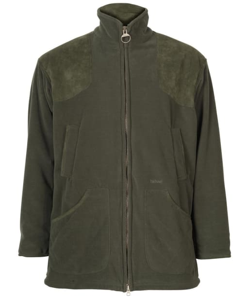 Men's Barbour Dunmoor Fleece Jacket - Olive