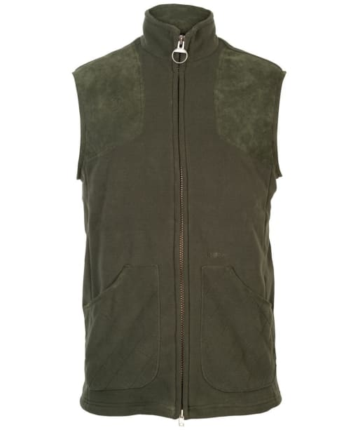 Mens Barbour Dunmoor Fleece Gilet - Olive