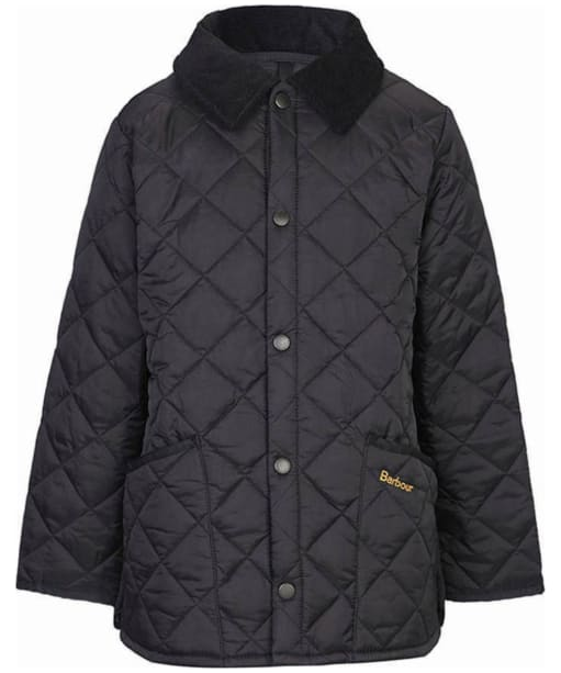 Boy's Barbour Liddesdale Quilted Jacket, 10-15yrs - Black