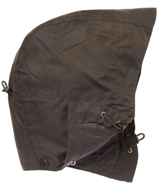 Barbour Wax Storm Hood - Olive