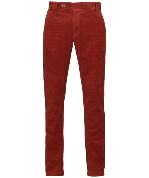 Mens Barbour Claremount Cord Trousers - Merlot