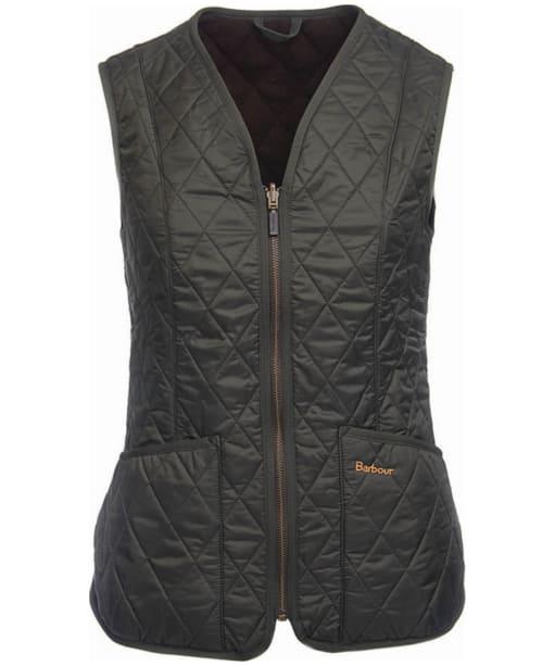 Women's Barbour Fleece Betty Liner - Dark Olive